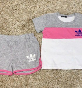 К-т футболка+шорты 86-110 см