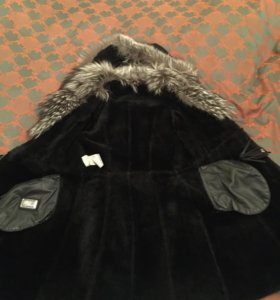 Зимняя дубленка( пальто)