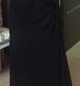 Платье в пол на выпускной вечер и не только