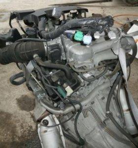 МОТОР - КОРОБКА NISSAN ELGRAND VQ35 VQ35DE