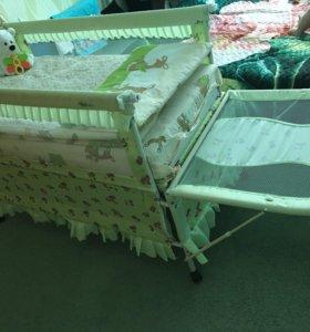 Кровать- манеж детская