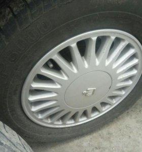 Оригинальные диски Toyota Crown + резина