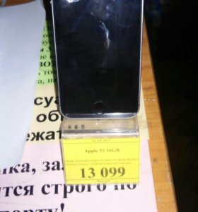 Продам телефон iphone 5s 16g