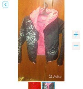 Пальто 42р+куртка