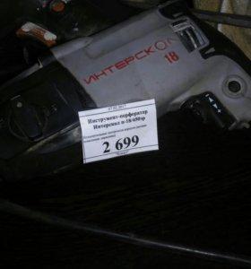 Продам дрель интероскол