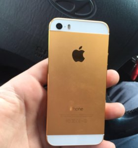 iPhone 5s gold 16 полный комплект
