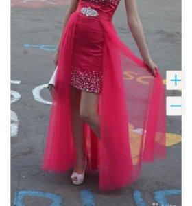 Вечернее платье 2 в 1