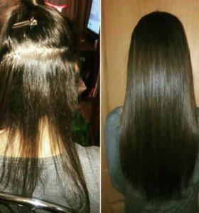 Нарощивание волос
