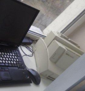 Ноутбук + Принтер лазерный