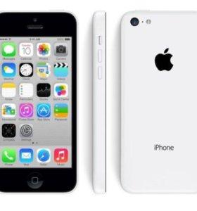 Айфон 5C белый на 16g