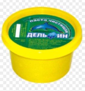 Чистящая паста для рук и сантехника Дельфин