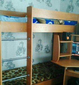 Кровать даухэтажная