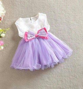 Новое платье на 1 - 1,5 года