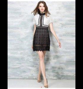 Платье кружевное!
