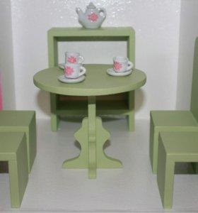 Кукольная миниатюра. Мебель для Барби.