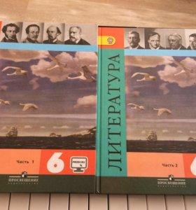 Учебники по литературе 6 класс