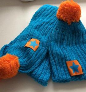 Комплект Новым шапка и шарф
