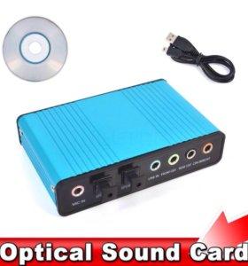 Звуковая карта USB 5.1 SPDIF