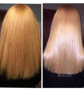 Ботокс,Био-протеин,полировка волос