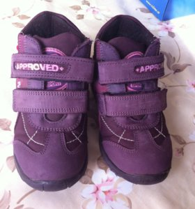 Утепленные ботинки Минимен размер 25, стелька 16см