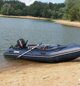 Надувная лодка с мотором + подарок