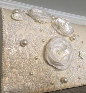 Свадебный короб (сундук, ящик) для конвертов