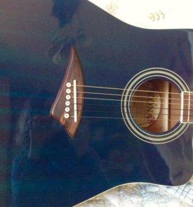 Акустическая гитара USA + чехол