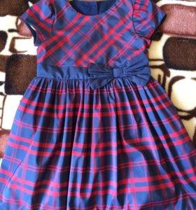 Платье на девочку mathercare рост 98