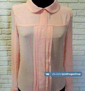Шифоновые блузки 42,44 размера