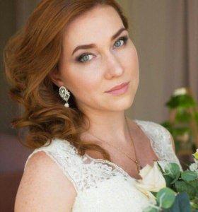 Свадебный стилист/визажист/ макияж/ прическа