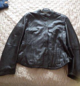 Куртка кожаная Max Mara новая