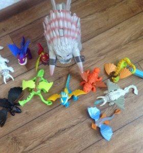 Как приручить дракона коллекция