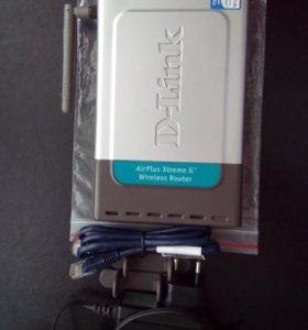 Беспроводной маршрутизатор D-Link DI-624