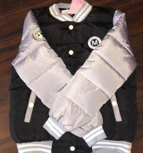 Куртка-бомбер новая 46