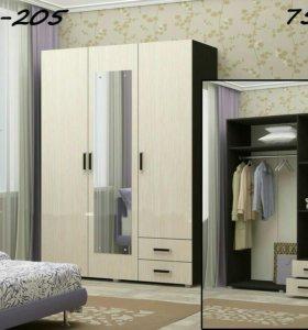 Шкаф 3х дверный фор шк.205