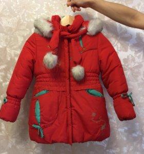 Куртка детская (на девочку)