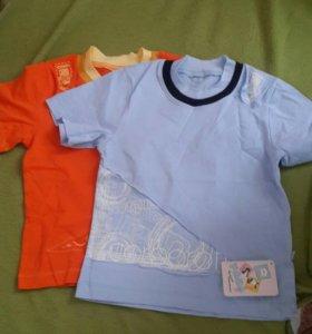 Новые футболки 98 размер