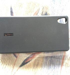 Накладка для Sony Xperia Z2 + защитная пленка