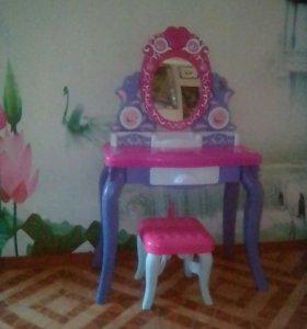 Детский музыкальный туалетный столик