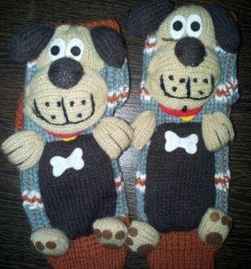 Новые носочки с резинками