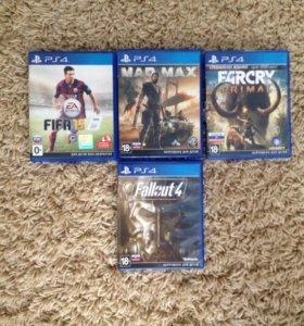 Лицензионные Диски На PS4