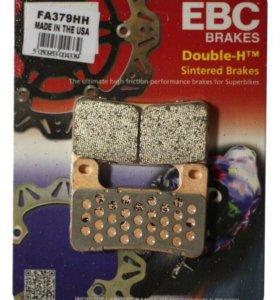 EBC Тормозные колодки FA379HH DOUBLE H Sintered