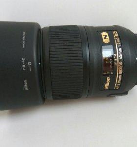 Nikkor 60 mm 1:2.8G ED AF-S Micro