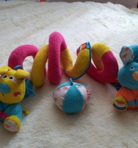 Игрушки для девочки 0+