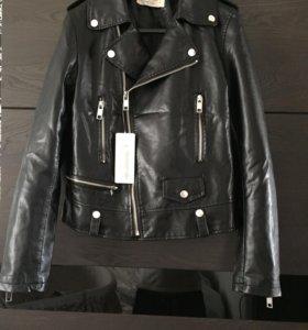 Новая кожаная куртка (косуха)