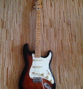 Продам гитару Fender Squier Stratocaster Korea