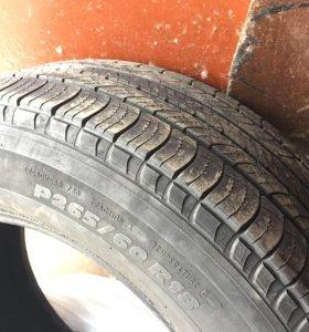 Шины Michelin Latitude Tour R18 265/60, 4шт. б/у