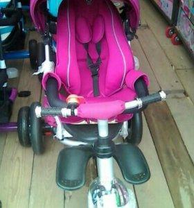 Велосепед коляска новый