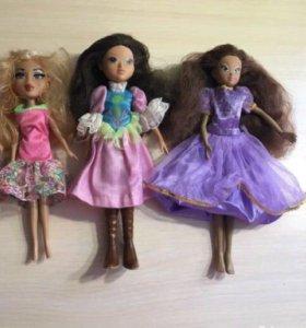 3 куклы набор