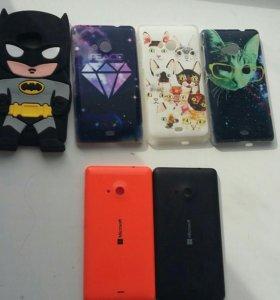 Чехлы на Microsoft(Nokia) lumia 535